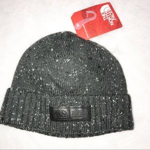 The North Face Grey beanie hat one size NWT